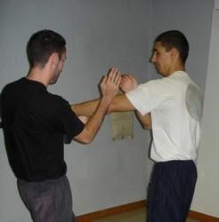 Chi Sao (suite) entre Thomas et Christophe
